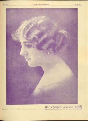Lotte Neumann in Die Neue Kino Rundschau 1919-03-30