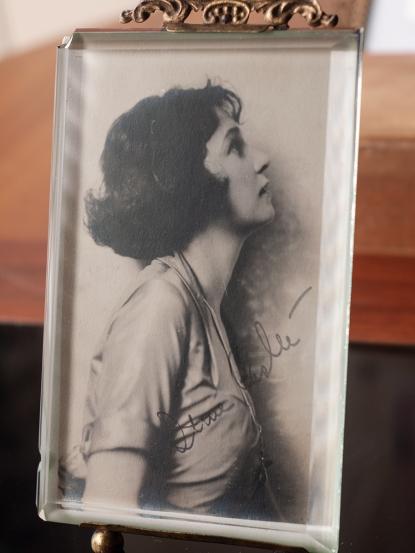 Irene Castle Autographed Postcard