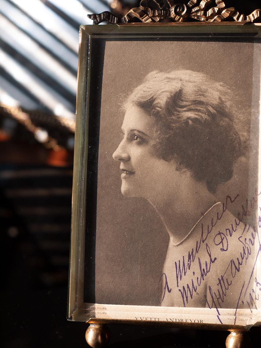 Yvette Andreyor 1923 Autographed Postcard