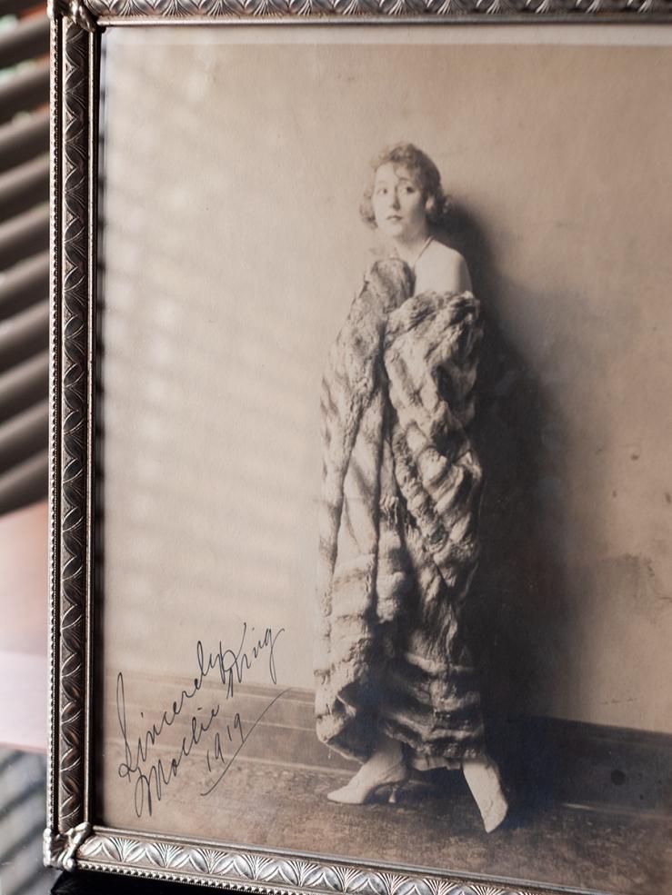 Mollie King 1919 Autographed Photo