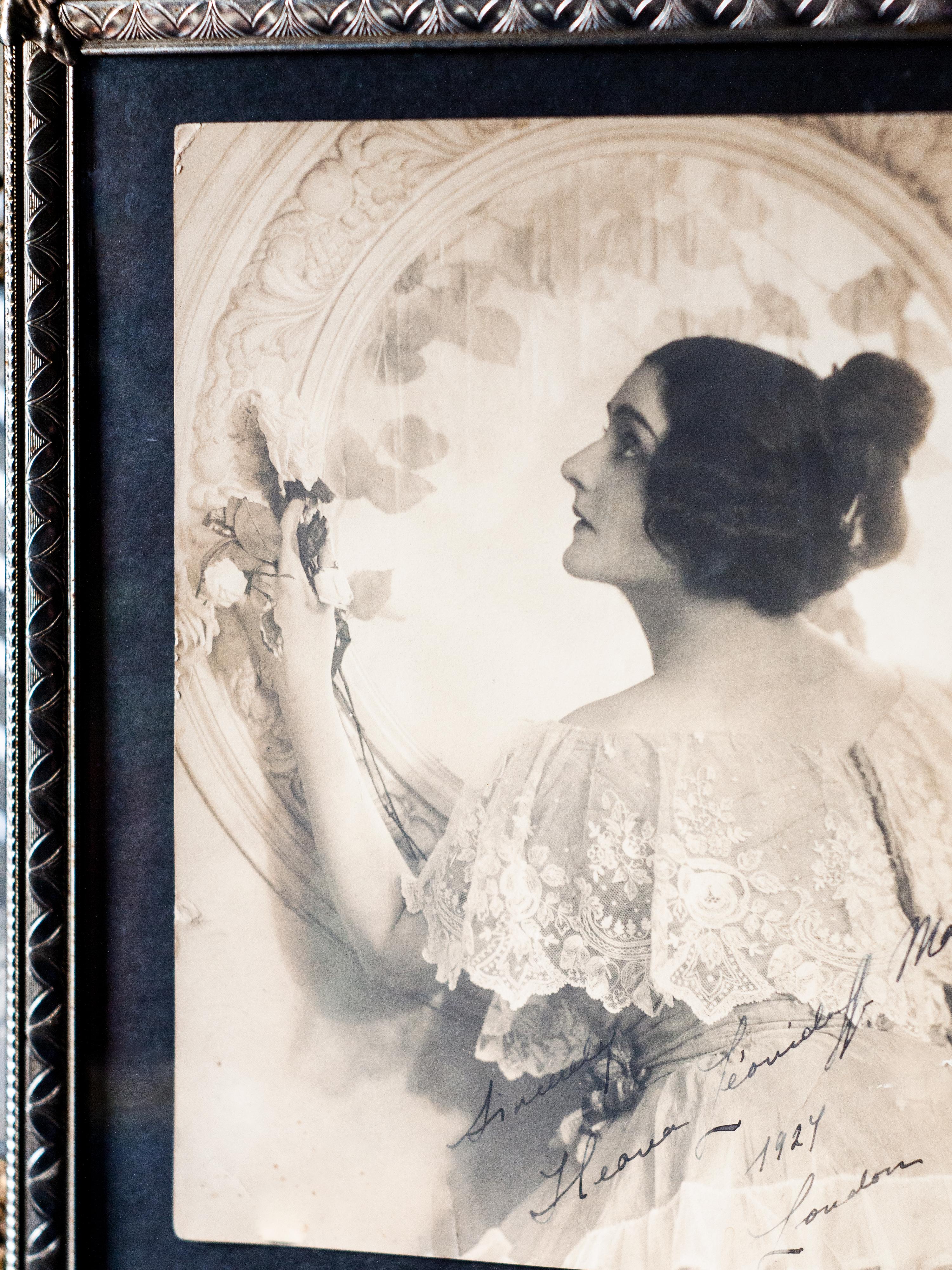 Ileana Leonidoff 1924 Autographed Photo