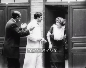 Gabrielle Robinne in Coeur de Femme (1913)