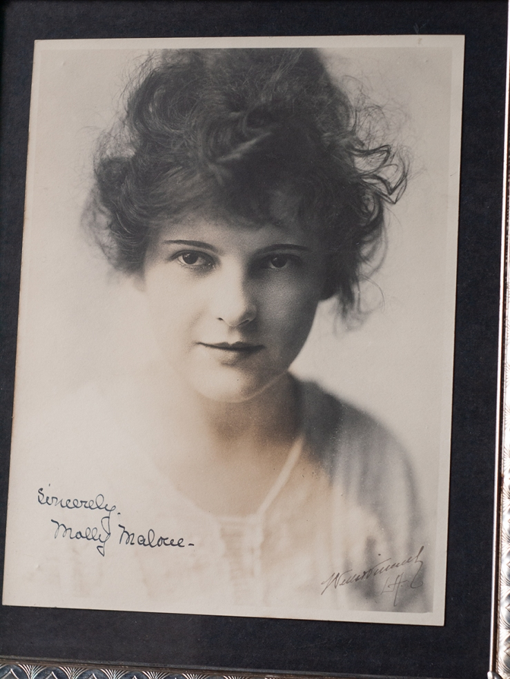 Molly Malone c1920 Autographed Photo