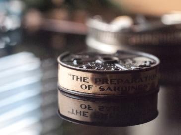 c1910 - 9.5mm 『オイルサーディンができるまで』