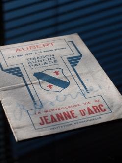 La Merveilleuse Vie de Jeanne D'arc 1929 Belgian Program