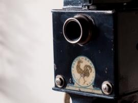パテ・ベビー映写機 A型 01