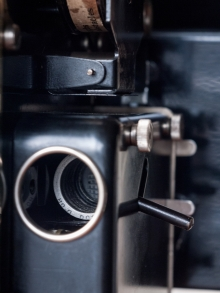 仏パテ社 コック・ドール 9.5mmサイレント映写機01