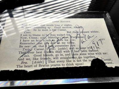 1917年セダ・バラ直筆サイン