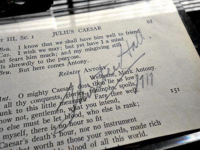 1917年サーストン・ホール直筆サイン
