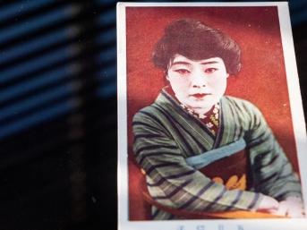 人気俳優ブロマイド(手彩色版、1920年代中頃)04