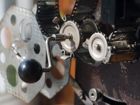 Alef 35mm projector 01