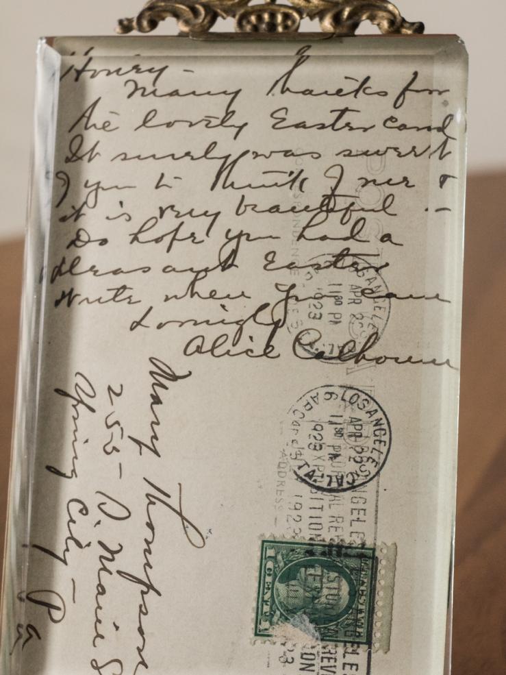 Alice Calhoun Handwritten Letter 02