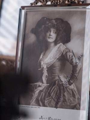 Ally Kolberg-Kay Autographed Postcard