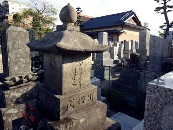 20151101 川田芳子墓参01