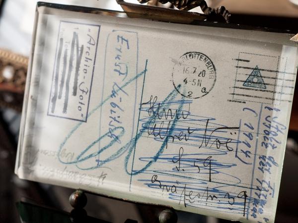 Ernst Lubitsch 1920s Autographed Postcard 02