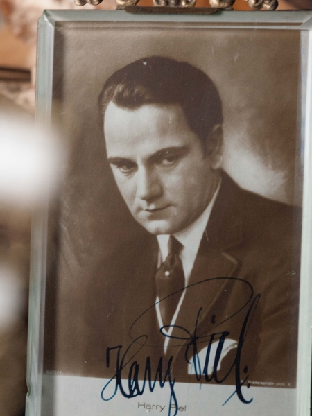 Harry Piel Autographed Postcard