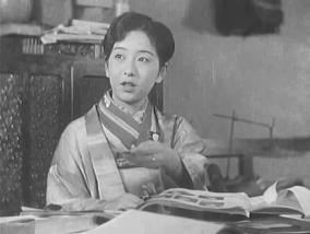 飯塚敏子 1931年『淑女と髭』より