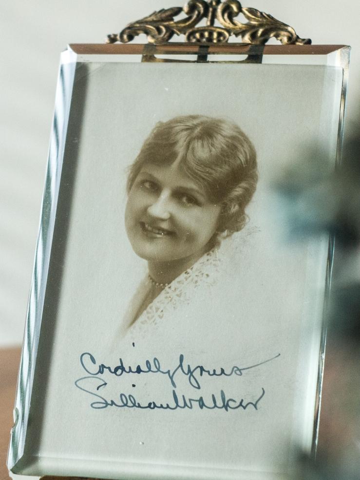 Lillian Walker Autographed Postcard