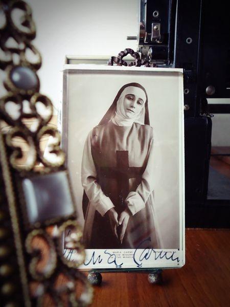 Maria Carmi Autographed Postcard
