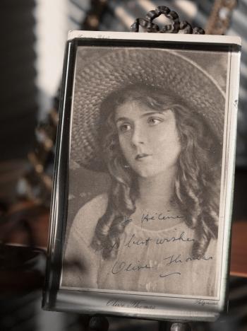 Olive Thomas Autographed Postcard