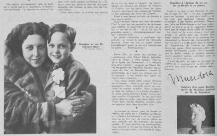ミュジドラ Musidora (1889 – 1957) – ] 映画の郷 [