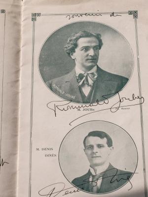 Romuald Joube et Denis Dines