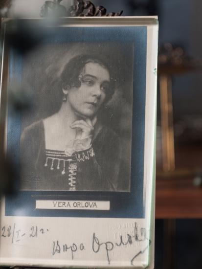 Vera Orlova 1921 Autographed Postcard