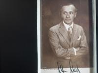 Alfred Abel Autograph/Autogramm/Autographe/Autografo
