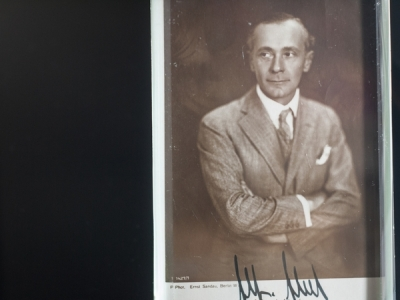 Alfred Abel Autograph