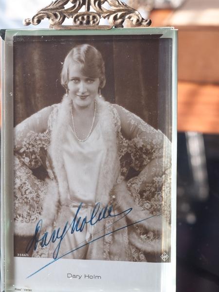 Dary Holm Autograph/Autogramm/Autographe/Autografo
