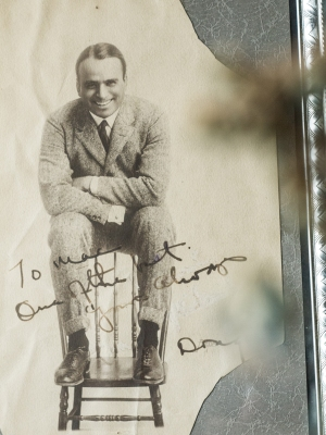 Douglas Fairbanks Autographed Photo