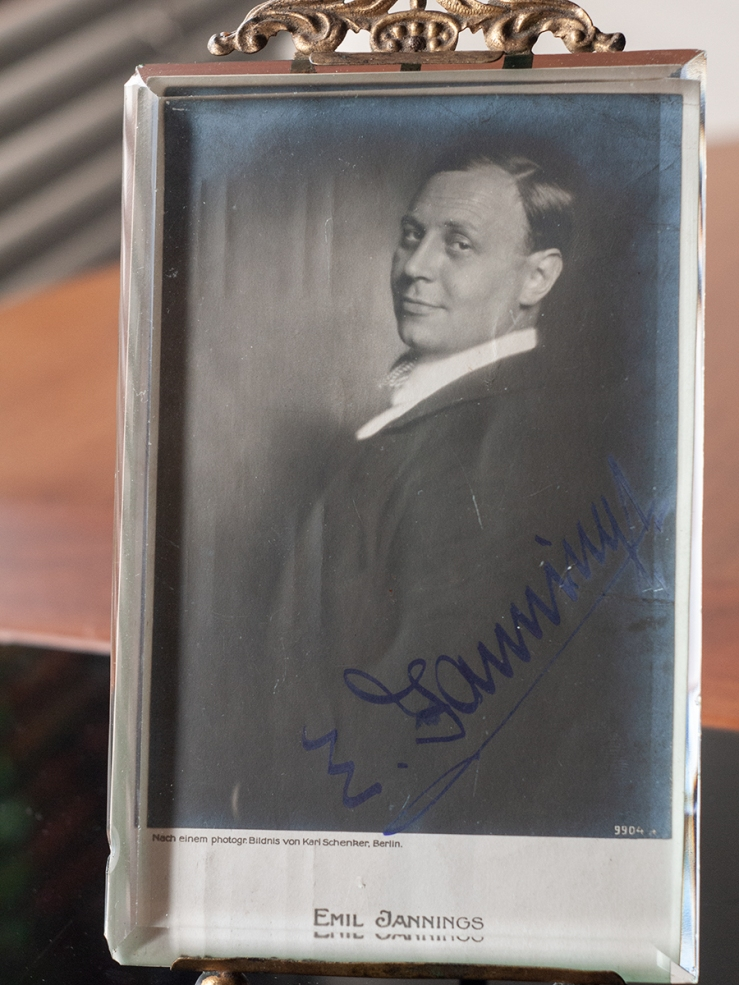 Emil Jannings Autograph/Autogramm/Autographe/Autografo
