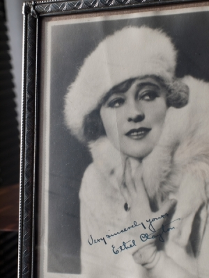 Ethel Clayton Autographed Photo