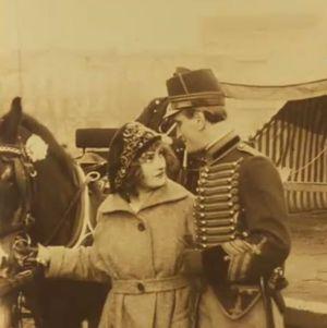 Fern Andra in Um Krone und Peitsche (1918)