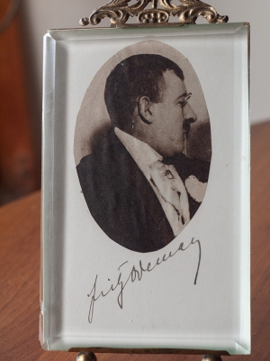 Fritz Odemar Autographed Card