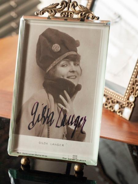 Gilda Langer Autograph/Autogramm/Autographe