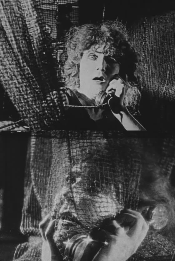 Gina Palerme in Abel Gance's Au secours! (1924)