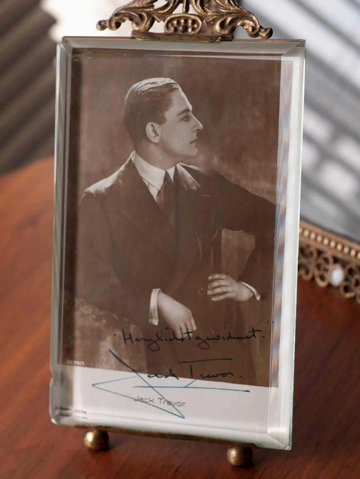 Jack Trevor Autograph/Autogramm/Autographe/Autografo
