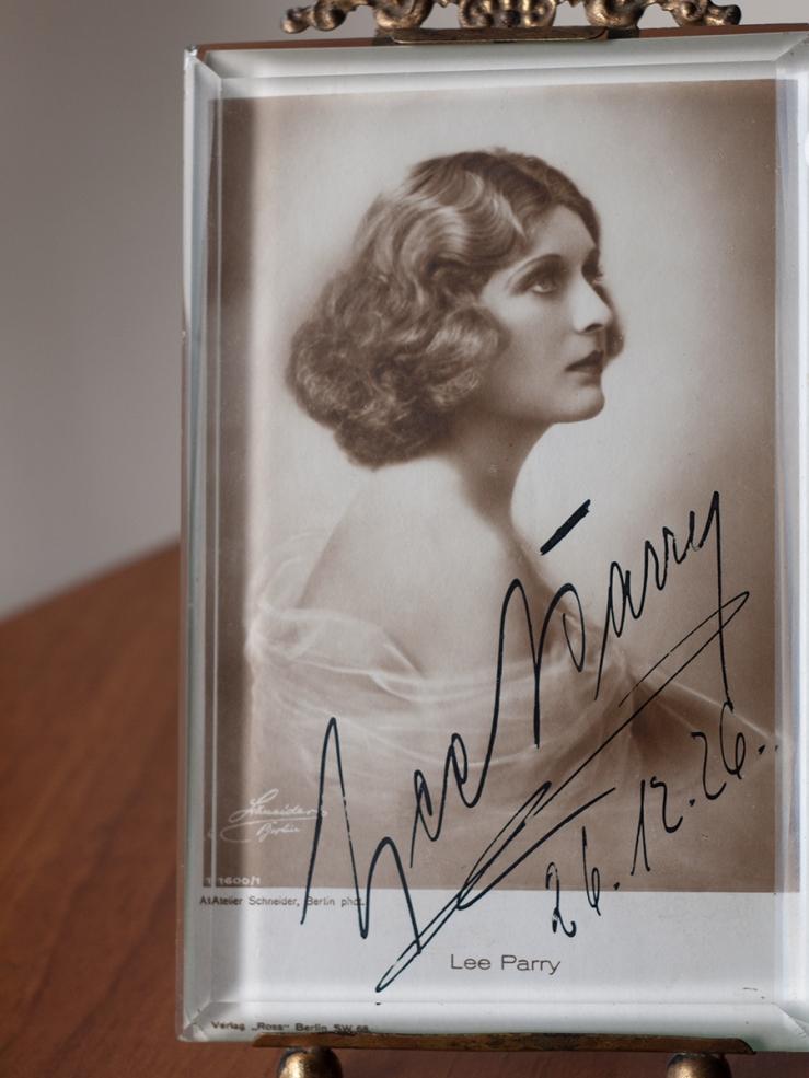 Lee Parry Autograph/Autogramm/Autographe/Autografo