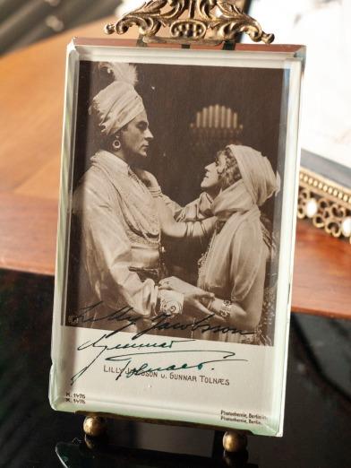 リリー・ヤコブソン (Lilly Jacobson 1893–1979) & グンナール・トルナエス (Gunnar Tolnaes 1879–1940) Autograph