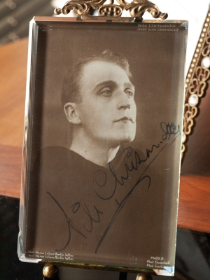 Nils Olaf Chrisander Autograph/Autogramm/Autographe
