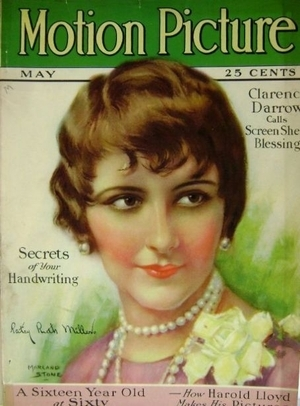 Patsy Ruth Mmiller 1927 Motion Picture Magazine