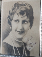 Patsy Ruth Miller Autographed Photo