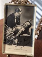 Pola Negri Autograph/Autogramm/Autographe/Autografo
