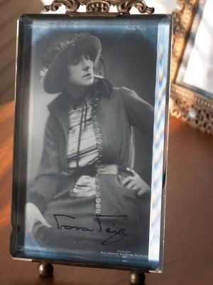 Tora Teje Autograph/autographe/autogramm