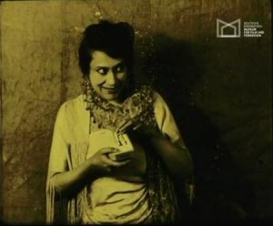 Wanda Treumann in Wanda's Trick (1918)