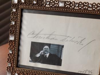 Christian Schrøder Autograph/autogramm/autographe