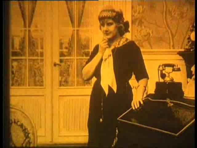 Edith Buemann in Dr. Nicholson og den blaa Diamant