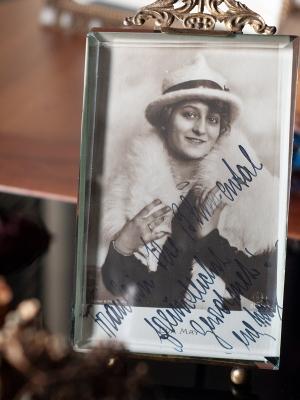 Eva May Autograph/autogramm/autographe