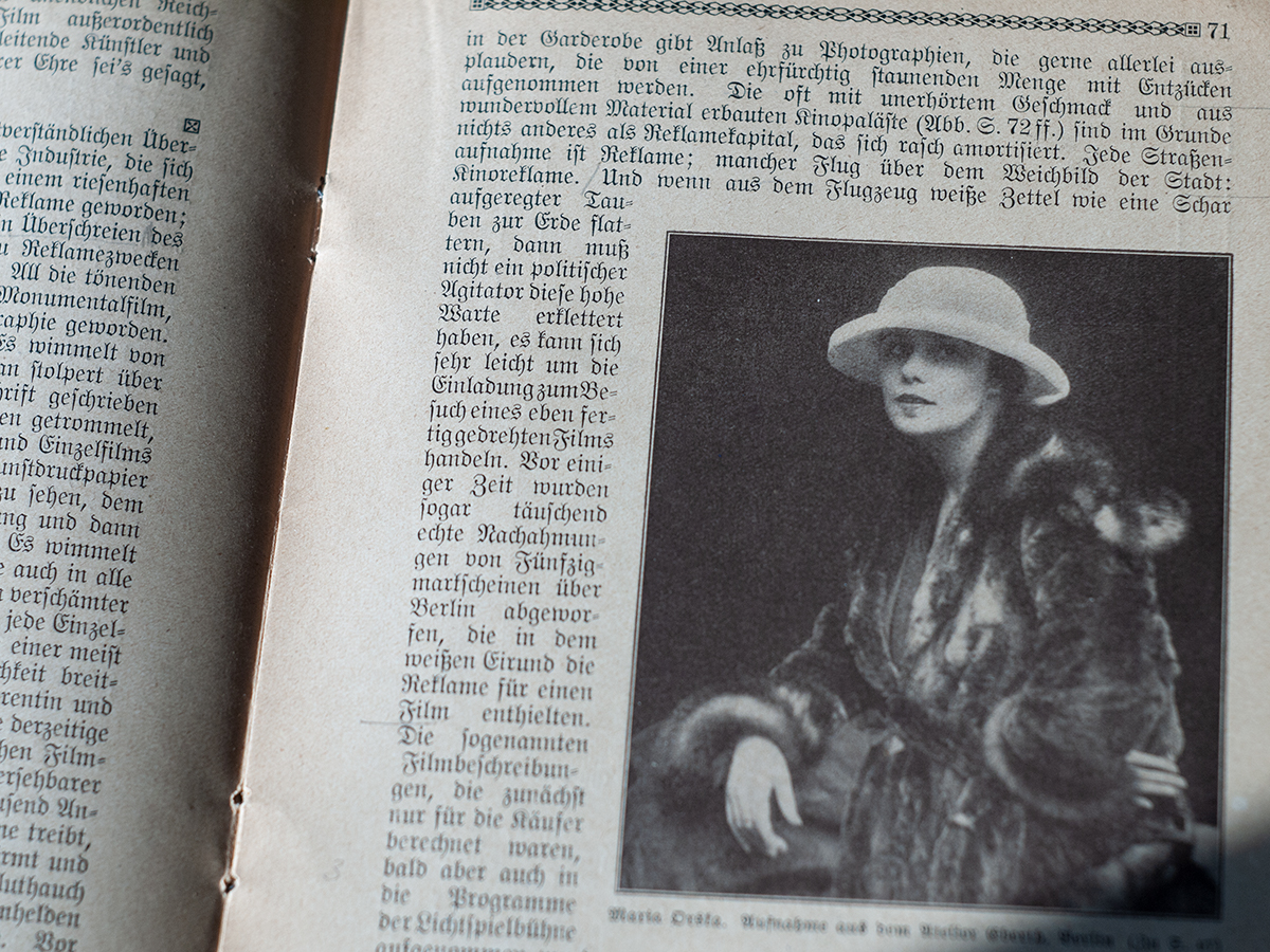 Maria Orska in Kino (1919)